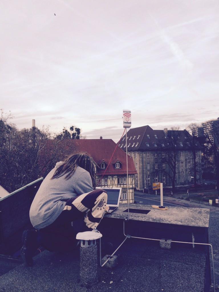 Freifunk auf dem Dach